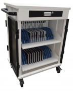 Chariot multimédia 30 tablettes ou PC portables - Chariot multimédia ( 30 tablettes ou PC portables )