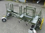 Chariot nacelle moteur d'avion - Manutention moteur d'avion