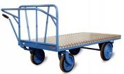 Chariot plateforme agroalimentaire - Capacité : 1000 kg