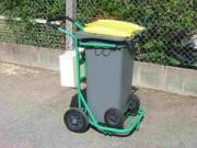 Chariot porte bac - Chariot porte bac acier laqué - 4E001
