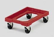 Chariot porte bac Normes Europe 600x400 mm - Charge : 250 kg