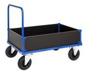 Chariot porte caisse 500 Kg - Avec 2 poignées et 4 côtés