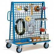 Chariot porte outils à 2 panneaux - Capacité de charge : 500 Kg