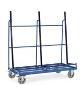 Chariot porte panneaux 1 face - Charge (kg) : 1200 - Norme EN 1757-3