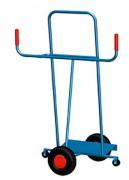 Chariot porte panneaux en bois et plastique - Capacité de charge : 250 kg