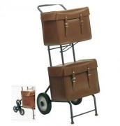 Chariot postier 2 roues - Dimensions hors tout (mm) : 415 x 595 x 985