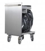 Chariot poubelle - Dimensions (L x l x H) mm : 450 x 595 x 840