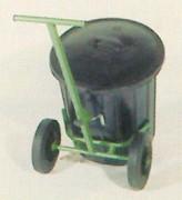 Chariot poubelle
