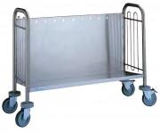 Chariot pour 150 ou 300 assiettes - Dimension (L x P x H) mm : Jusqu'à 1125 x 783 x 825