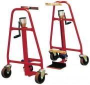Chariot pour armoires - Capacité de Charge de 600 kg - Roues Ø 12,5 cm
