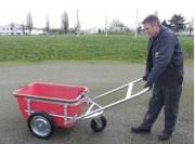 Chariot pour bac à mortier - Charge maximale autorisée : 447 kg