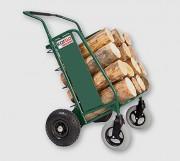 Chariot pour bois et granulés - Capacité d'emport : 150 kg