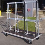 Chariot pour charges longues 500 kg - Capacité de charge : 500 kg