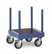 Chariot pour charges longues en acier - Charge (kg) : 1200 ; 1500 ; 2000 ; 3000