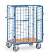 Chariot pour colis à portes battantes - Charge (kg) : 600 / Norme Européenne EN 1757-3