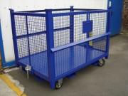 Chariot pour collecte de déchets - Capacité du sac (dm3): 500 - 1000 - 1500