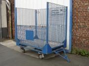 Chariot pour déchets industriels banals - Capacité du sac : 1500 dm3