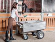 Chariot pour fourrage - En acier inoxydable