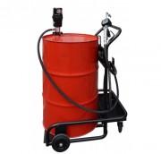 Chariot pour fût de lubrification - Contenance (L) : 200