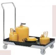 Chariot pour fût et petits récipients 60 Litres - W.8838