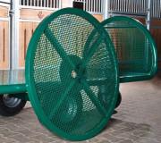 Chariot pour grands ballots traditionnel - Capacité de charge jusqu'à 1000 kg