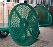 Chariot pour grands ballots avec balance - Capacité de charge jusqu'à 1000 kg