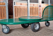 Chariot pour grands ballots professionnel - Capacité de charge jusqu'à 500 kg