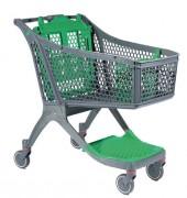Chariot pour magasin - Gamme de chariots de magasin en plastique