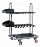 Chariot pour profilés verticaux - Capacité de charge (kg) : 520 - 560