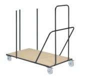 Chariot pour table - Capacité : 20 tables de longueur 150 ou 180 cm - 18 tables de longueur 240 cm
