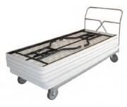 Chariot pour tables collectivités - Charge utile (Kg) : 450