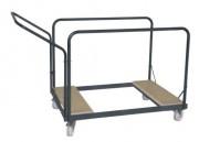 Chariot pour tables rondes - Capacité : 11 à 18 tables