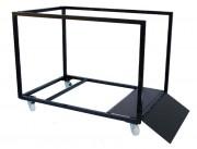 Chariot pour transport de tables rondes - Capacité : 8 à 12 tables