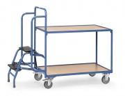 Chariot préparateur de commande - Charge : 250 Kg