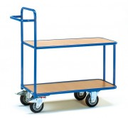 Chariot préparateur de commande à 2 plateaux - Charge (Kg) : 300