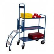 Chariot préparateur de commande stable - Charge utile : 250 Kg