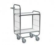 Chariot préparation de commandes à 2 plateaux - Capacité (Kg) : 250