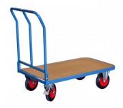 Chariot professionnel à dossier rabattable - Charge utile (Kg) : 400