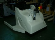 Chariot retourneur basculeur de pile - Capacité maximum : 1000 Kg