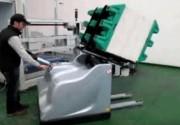 Chariot retourneur de pile sur palette - Format papier maximum : 50 x 70 cm