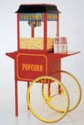 Chariot retro pop corn - Style d'ancien chariot américain.