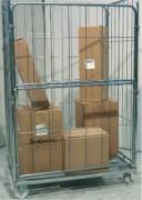 Chariot roll conteneur 500 kg - Capacité : 500 kg
