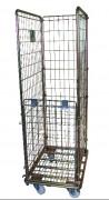 Chariot Roll de manutention socle fil - Dimensions hors tout (mm) : 530 x 730 x 1660