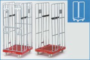 Chariot roll emboîtable - Systèmes TDP (bouteilles) et Rollcontainers(emboîtables)