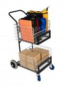 Chariot service courrier - Distribution et collecte du courrier