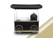 Chariot Snack Potatoes - Chariot avec four à pommes de terre & saladette