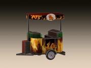 Chariot Street Food - Poids : 80 Kg