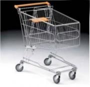 Chariot supermarché - Contenance : de 25 à 240 Litres