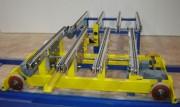 Chariot sur rails transbordeur - Navette automatique