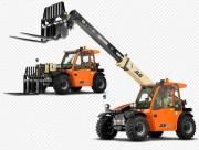 Chariot télescopique frontal - Capacité plate-forme 2 500 kg
